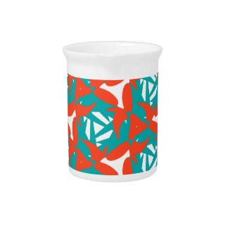 Diseño tropical de la sorpresa jarrón