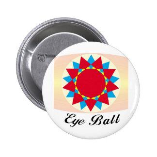 diseño único de la bola del ojo pins