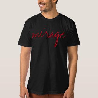 diseño único de la camiseta del espejismo remeras