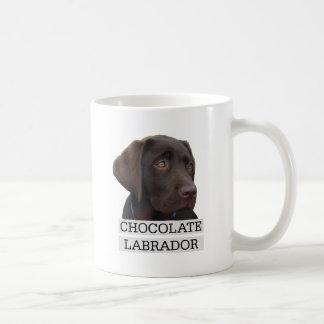 ¡Diseño único de Labrador del chocolate! Taza De Café