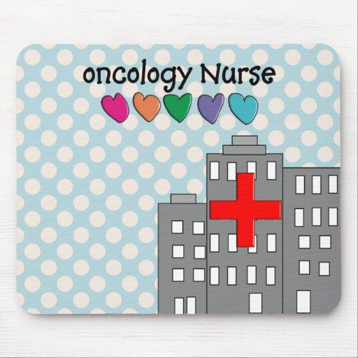 Diseño único de los regalos de la enfermera de la  alfombrilla de ratones