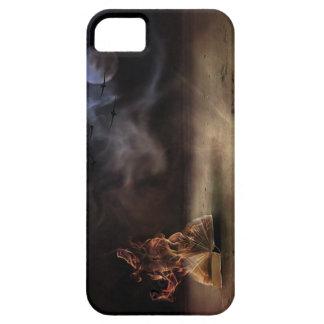Diseño único - debajo de la luna iPhone 5 Case-Mate protectores