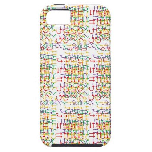 Diseño ÚNICO del fondo del friki: Añada la imagen  iPhone 5 Cárcasa