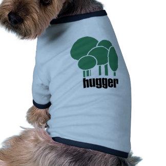 ¡Diseño único del hugger del árbol! Camisa De Perro