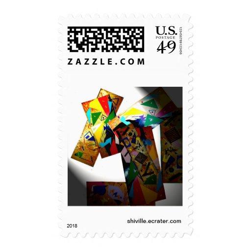 diseño único del sello