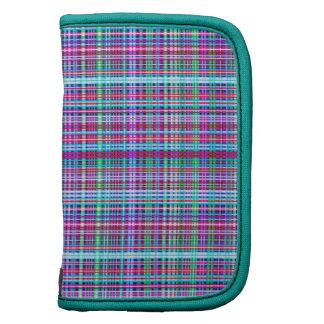 Diseño único femenino de la tela escocesa de la fr organizadores