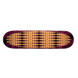 Diseño único skateboard