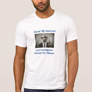 Diseño uniforme #2 del humor: Camiseta (blanca) Remeras