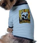 Diseño urbano artístico de la raza del perro del b camiseta de perro