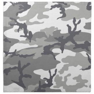 Diseño urbano del camuflaje servilleta imprimida