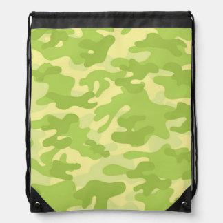 Diseño verde de Camo Mochila