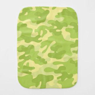 Diseño verde de Camo Paños De Bebé