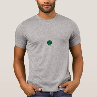Diseño verde de la célula camiseta