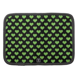 Diseño verde de los corazones planificadores