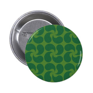 Diseño verde de Paisley Pin
