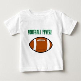 Diseño verde del fútbol t-shirt