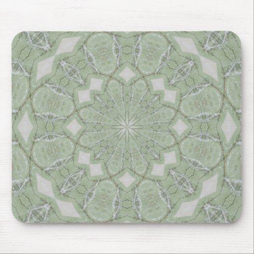 Diseño verde Mousepad Tapetes De Raton