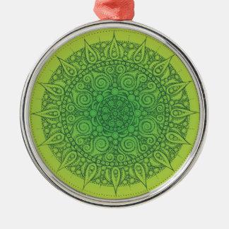 Diseño verde oriental bonito