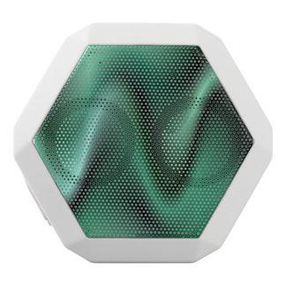 Diseño verde oscuro de la onda altavoces bluetooth blancos boombot REX