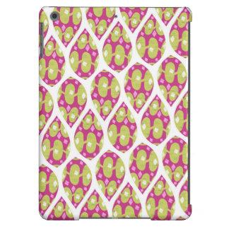 Diseño verde y rosado elegante del modelo de la funda para iPad air