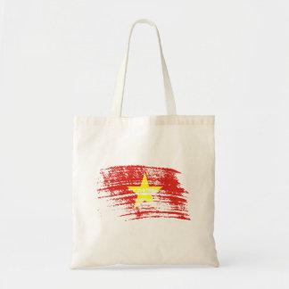 Diseño vietnamita fresco de la bandera bolsa