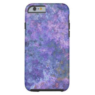 Diseño violeta artsy funda de iPhone 6 tough
