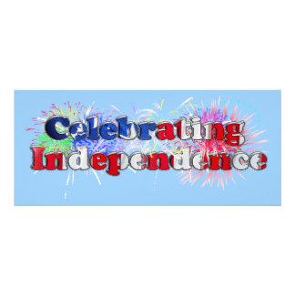 Diseño w Fireworks del texto de la independencia d
