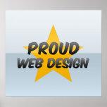 Diseño web orgulloso impresiones