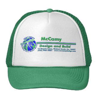 Diseño y estructura de McCamy Gorro
