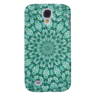 Diseño-yo azulverde de Digitaces Funda Para Galaxy S4