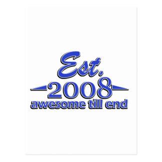 diseños 6 años postales