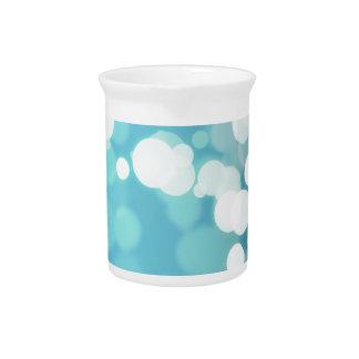 Diseños abstractos azules de las ilustraciones jarrones