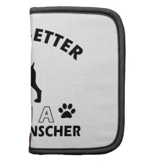 Diseños alemanes de la raza del perro del Pinscher Planificador