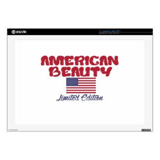 diseños americanos de la belleza calcomanías para 43,2cm portátiles