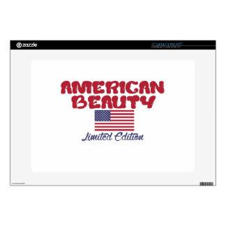 diseños americanos de la belleza portátil calcomanías