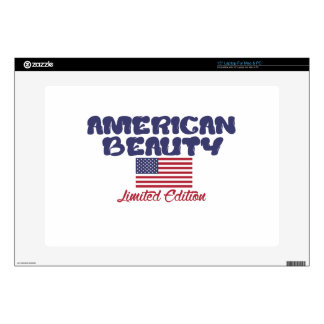 diseños americanos de la belleza skins para 38,1cm portátiles