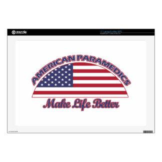 diseños americanos de los paramédicos portátil 43,2cm skins