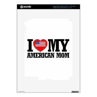 diseños americanos frescos de la mamá iPad 3 pegatina skin