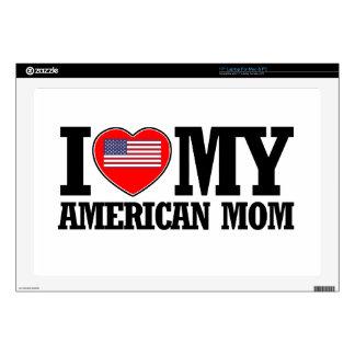 diseños americanos frescos de la mamá skins para 43,2cm portátiles