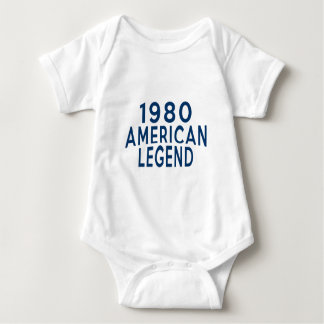 Diseños an o 80 del cumpleaños de la leyenda del camisas