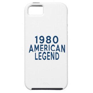 Diseños an o 80 del cumpleaños de la leyenda del iPhone 5 funda