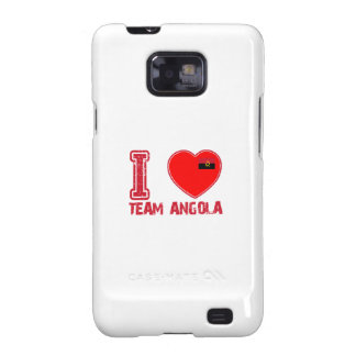 diseños angolanos de los deportes de equipo samsung galaxy SII funda