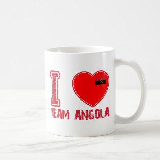 diseños angolanos de los deportes de equipo taza