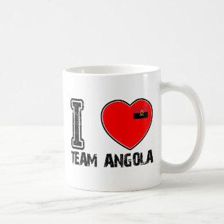 diseños angolanos de los deportes de equipo taza clásica