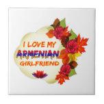 Diseños armenios de la novia teja cerámica