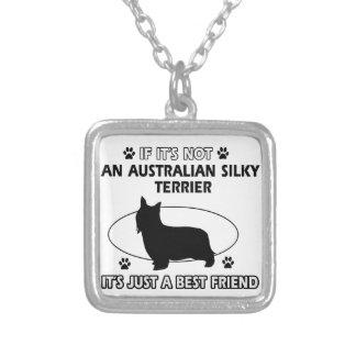 Diseños AUSTRALIANOS del mejor amigo de TERRIER SE Colgante Personalizado