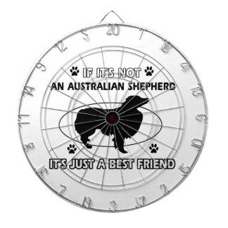 Diseños AUSTRALIANOS del mejor amigo del PASTOR Tablero Dardos