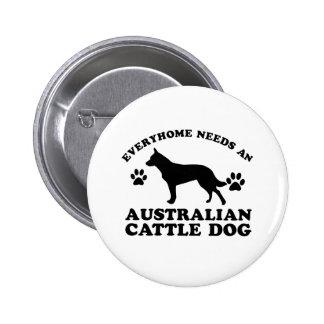 Diseños australianos del perro del ganado pins
