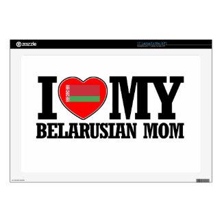 diseños bielorrusos frescos de la mamá skins para portátiles