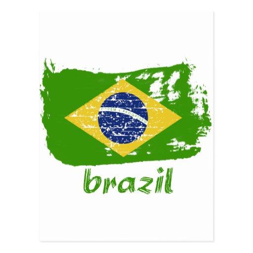 Diseños brasileños de la bandera postal